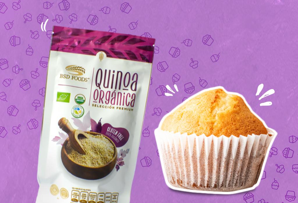 Muffins de Quinoa